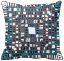 Squaredl layers teal