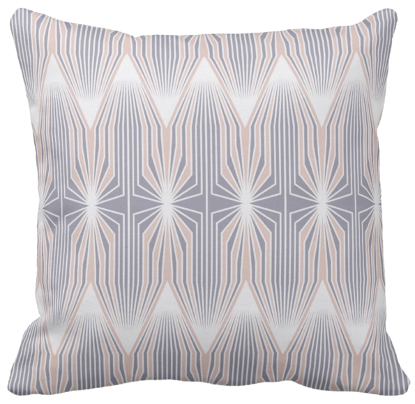 Tulips violet throw pillow