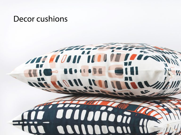 Decor cushions